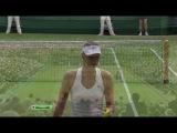 Wimbledon 2011. Финал. Петра Квитова - Мария Шарапова